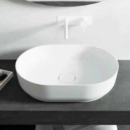Lavabo freestanding di design da bagno fatto in Italia Dalmine Medium