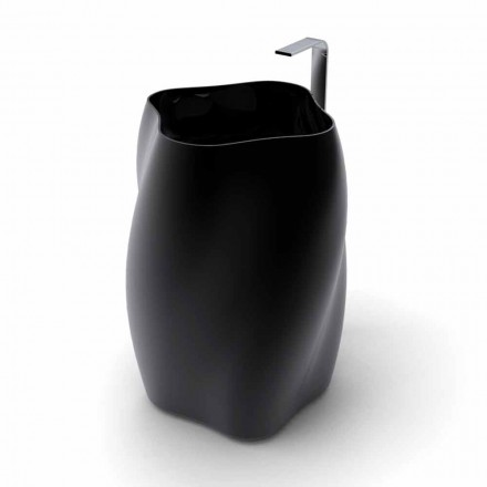 Lavabo freestanding di design moderno Flower fatto in Italia