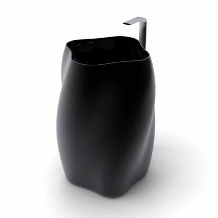 Lavabo freestanding di design moderno Flower fatto in Italia
