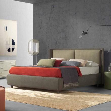 Letto matrimoniale con contenitore, design moderno, Kate by Bolzan