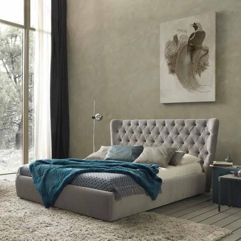 Letti Matrimoniali Design Con Contenitore.Letto Matrimoniale Design Contemporaneo Con Box Selene By Bolzan