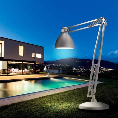 Leucos The Great JJ lampada da terra da esterno in alluminio di design