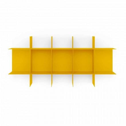 Libreria Componibile a Parete Design Modulare in Metallo di Alta Qualità - Roger