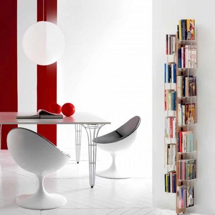 Libreria moderna da terra fissata a parete Zia Veronica