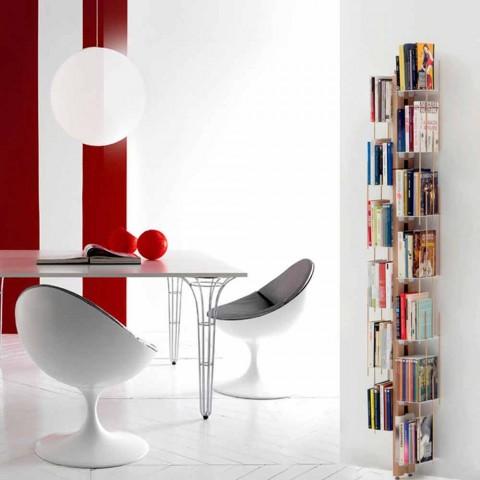 Librerie Moderne A Parete.Libreria Moderna Di Design Da Terra Made In Italy Zia Veronica
