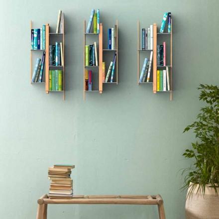 Libreria design moderno da parete Zia Veronica