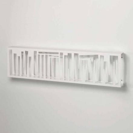 Libreria di Design Moderno da Parete in Metallo Bianco Made in Italy – Bolivia