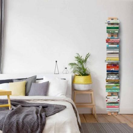 Libreria moderna da terra fissata a parete Zia Ortensia