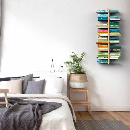 Libreria design moderno da parete Zia Bice