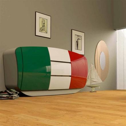 Madia design moderno realizzata interamente in Italia Boom