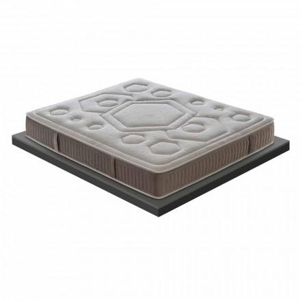Materasso Singolo in Memory di Alta Qualità Alto 25 cm Made in Italy – Arancia