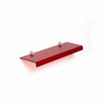 Mensola di design moderno in metacrilatoL90xP15 cm, Jack