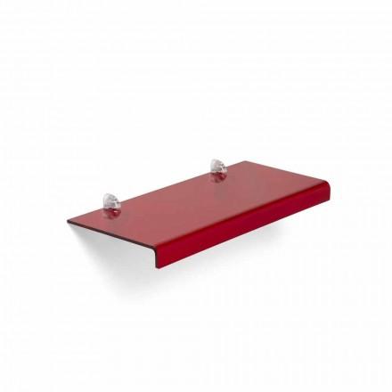 Mensola di design moderno in metacrilatoL90xP22 cm,Polly