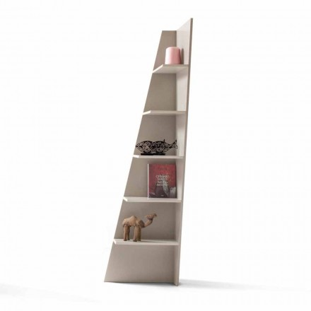 Libreria angolare di design MDF laccato My Home Esquina made in Italy