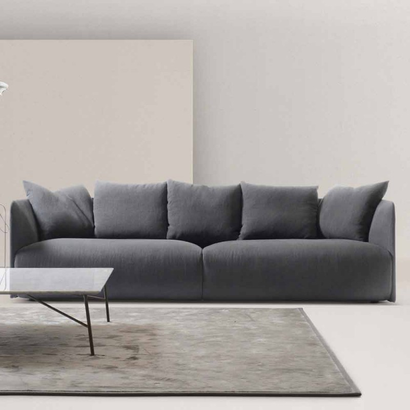 My Home Lullaby divano design moderno L250cm tessuto made in Italy