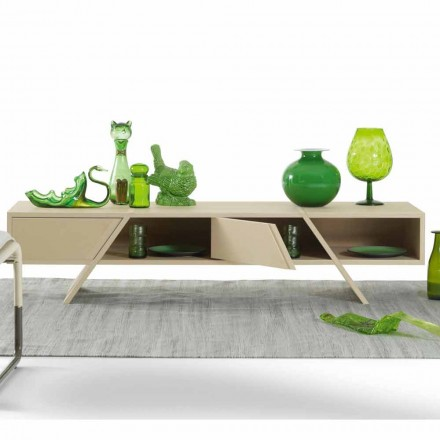 Madia di design My Home Ray in MDF laccato fatta in Italia