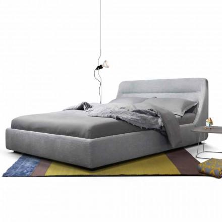 Letto matrimoniale imbottito di design My Home Sleepway made in Italy