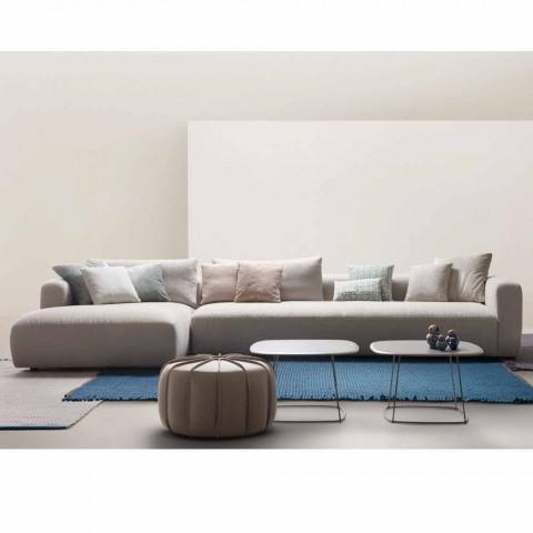 Divani Componibili In Tessuto.Divano Componibile In Tessuto My Home Softly Di Design Fatto In Italia