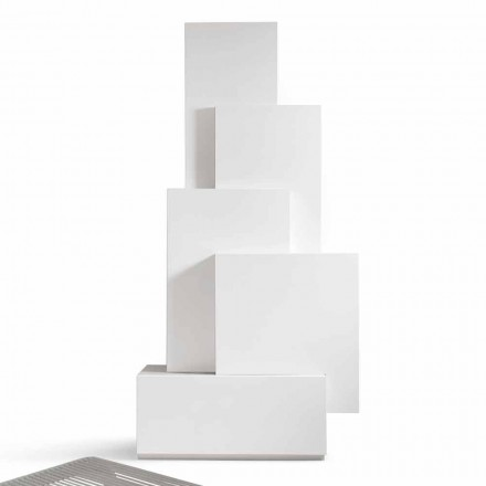 Mobile zona giorno a torre design MDF My Home Tetris made in Italy