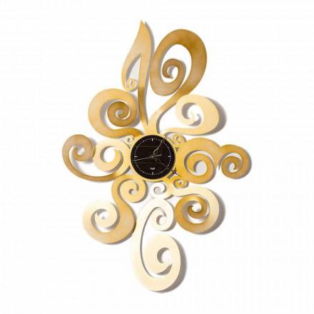 Orologio da Muro di Design Moderno in Ferro Made in Italy – Noel