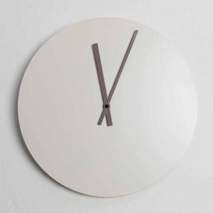 Orologio da Parete Design Industrial Moderno Colorato Made in Italy - Fobos
