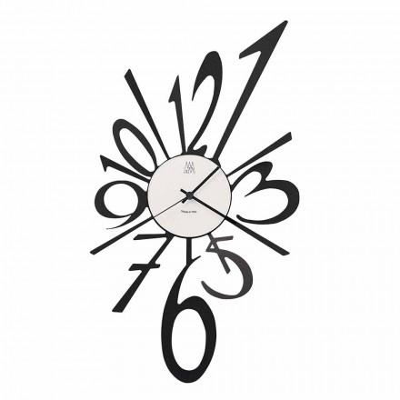 Orologio da Parete di Design in Ferro Nero o Alluminio Made in Italy – Oceano