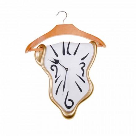 Orologio da Parete di Design in Resina Dipinta a Mano Made in Italy - Mailo