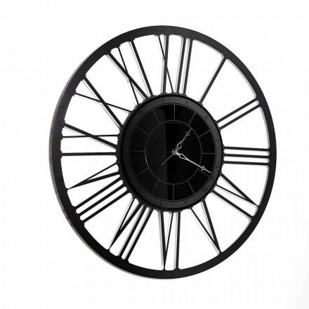 Orologio da Parete di Design Moderno a Specchio in Ferro Made in Italy - Gioele