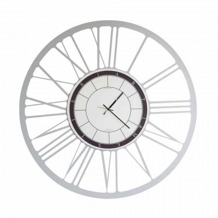 Orologio da Parete di Grande Dimensioni Moderno in Ferro Made in Italy – Einar