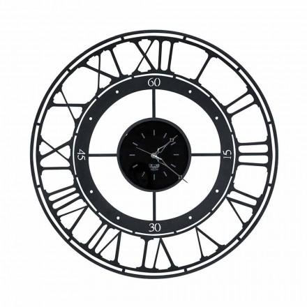 Orologio da Parete di Stile Classico in Ferro Colorato Made in Italy – Colore