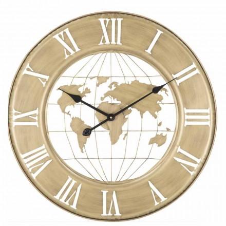 Orologio da Parete Diametro 63 cm di Design Moderno in Ferro - Telma