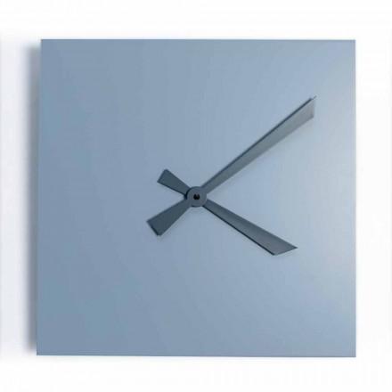 Orologio da Parete Quadrato Industrial e Moderno di Design Italiano - Titano