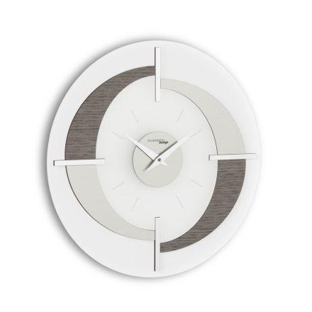Orologio da parete moderno di design Giove, fatto in Italia