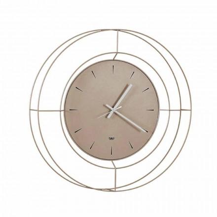 Orologio da Parete Moderno in Acciaio Colorato Made in Italy – Adalgiso