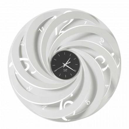 Orologio da Parete Rotondo in Ferro di Design Made in Italy - Salomone