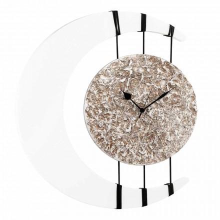Orologio da parete sospeso su corde di design made in Italy Jilly