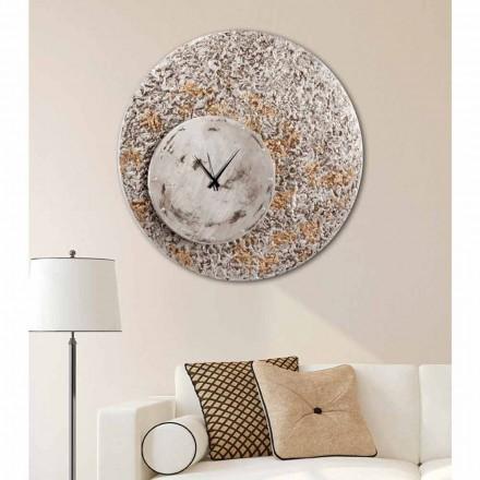 Orologio da parete su due livelli di design made in Italy Eccli