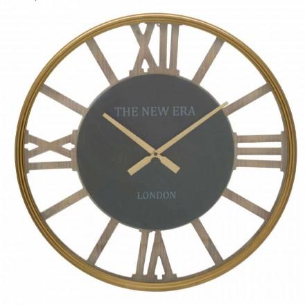 Orologio da Parete Tondo Diametro 60 cm di Design in MDF - Krizia