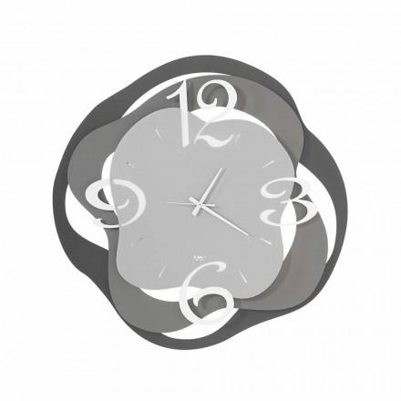 Orologio di Design Moderno da Parete in Ferro Made in Italy – Gertrude
