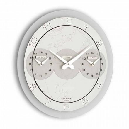 Orologio moderno da muro Dininho Tris