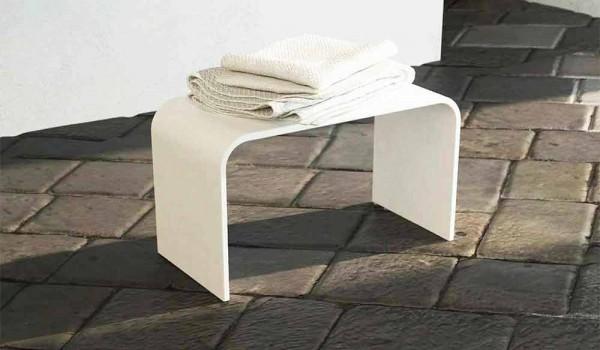 Distanza Panca Da Tavolo : Panca lunga di design da bagno moderna prodotta in italia recanati