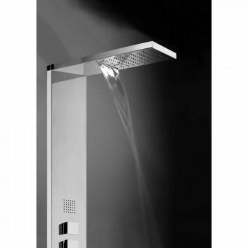 Pannello doccia multifunzionale inox Bossini Manhattan Column