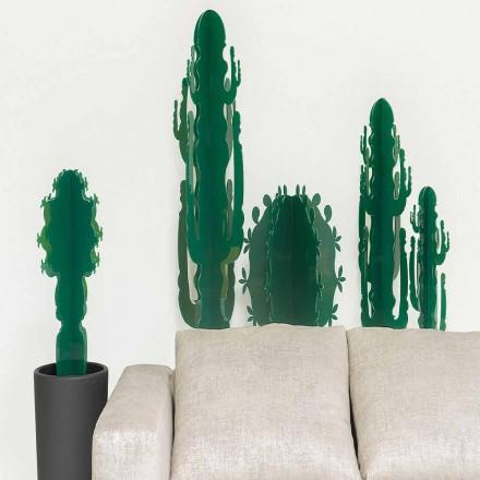 Pianta decorativa in plexiglass, in varie colorazioni, H 102cm Braies