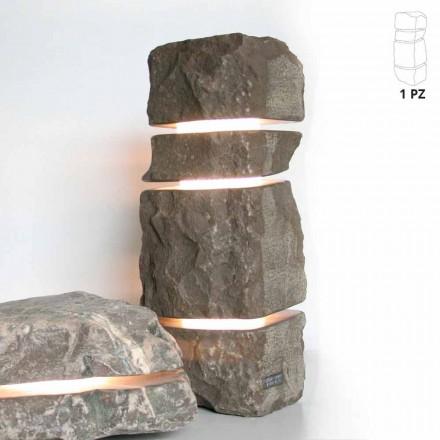 Pietra in marmo Fior di Pesco Carnico luminosa con 3 tagli Stonehenge