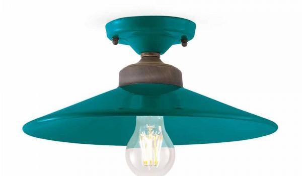Plafoniere Bagno Da Soffitto Design : Plafoniera da soffitto di design in ceramica e ottone cecilia