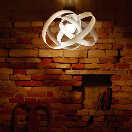 Plafoniera design in metacrilato design made in Italy diam.56 cmFerdi