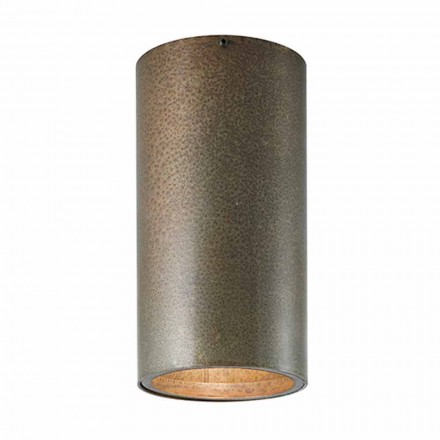Plafoniera in ferro o ottone stile industriale Girasoli Il Fanale