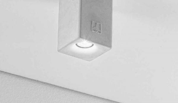Plafoniera Quadrata Led : Plafoniera quadrata a led per esterno nadir di aldo bernardi