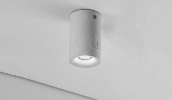 Plafoniere Per Esterno Moderne : Plafoniera rotonda per esterno a led nadir in gesso o cemento