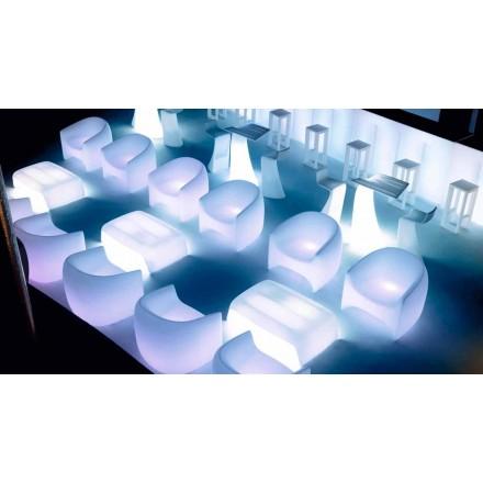 Poltrona da esterno iin resina di polietilene Blow Vondom, di design